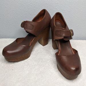 Rachel Comey Dekalb Clog Mary Jane Platform Heels 6.5